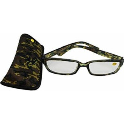 Forest Green Camoflauge Reading Glasses (+2.25) by Glasses