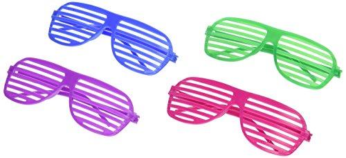 Fun Express Oriental Trading Shutter Shading Glasses (12-Pair)
