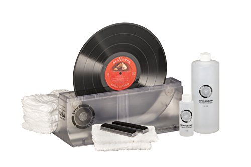 limited edition clear spin clean record washer mkii kit - Limited-Edition Clear Spin-Clean Record Washer MKII Kit