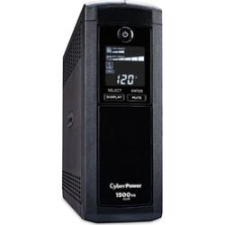 cyberpower cp1500avrlcd intelligent lcd ups system 1500va900w - CyberPower CP1500AVRLCD Intelligent LCD UPS System, 1500VA/900W