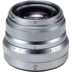Fujifilm FUJINON XF 35mm F2 R WR Lenses – Silver