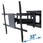 full motion tv wall mount with 32 inch long extension for 42 to 80 inch tvs 150x150 - Revitalizer Compound Polish, gallon - Ducky