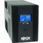 tripp lite 1500va 900w ups battery back up avr lcd display 150x150 - Tripp Lite 1500VA 900W UPS Battery Back Up, AVR, LCD Display, Line-Interactive, 10 Outlets, 120V, USB, Tel & Coax Protection (SMART1500LCDT)