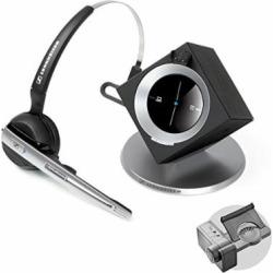 sennheiser officerunner convertible wireless office headset with microphone  - Sennheiser OfficeRunner Convertible Wireless Office Headset with Microphone - DECT 6.0 (Professional Bundle)