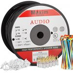 maximm outdoor speaker wire 500 feet 12awg cl3 rated 2 conductor wire  150x150 - Valentine One Radar Detector