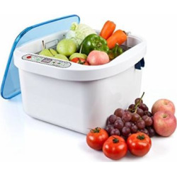 nski 128l home use ultrasonic ozone vegetable fruit sterilizer cleaner - Nski 12.8L Home Use Ultrasonic Ozone Vegetable Fruit Sterilizer Cleaner Washer Health