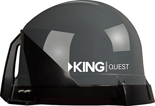 king vq4100 quest portableroof mountable satellite tv antenna for use with - KING VQ4100 Quest Portable/Roof Mountable Satellite TV Antenna (for use with DIRECTV)