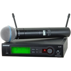 shure slx24beta58a wireless vocal system with beta 58a handheld mic - Shure SLX24/BETA58A Wireless Vocal System with Beta 58A Handheld Mic