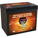 vmaxtanks vmax slr85 agm deep cycle 12 volt 85ah sla rechargeable battery for 150x150 - Vmaxtanks Vmaxslr125 AGM Deep Cycle 12v 125ah SLA rechargeable Battery for Use with Pv Solar Panels,Smart chargers wind Turbine and Inverters