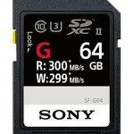 sony sf g64t1 high performance 64gb sdxc uhs ii class 10 u3 memory card with 150x150 - Pelican 1560 Case With Foam (Black)