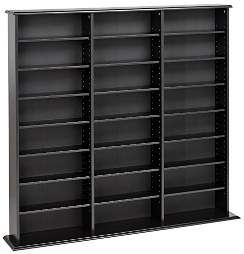 prepac triple width wall storage cabinet black - Prepac Triple Width Wall  Storage Cabinet, Black