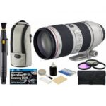 canon ef 70 200mm f28l is ii usm zoom telephoto lens with usa warranty  150x150 - Canon EF 70-200mm f/2.8L IS II USM Zoom Lens, Sandisk 64GB Card, Ritz Gear Cleaning Kit & Accessory Bundle