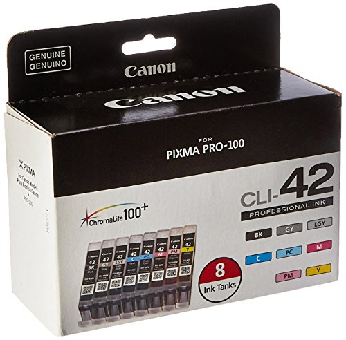 canon cli 42 8 pk value pack ink 8 pack - Canon CLI-42 8 PK Value Pack Ink, 8 Pack