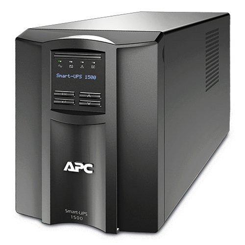 apc smart ups 1500va ups battery backup with pure sine wave output smt1500 - APC Smart-UPS 1500VA UPS Battery Backup with Pure Sine Wave Output (SMT1500)