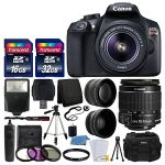 canon eos rebel t6 digital slr camera with 18 55mm ef s f35 56 is ii lens 150x150 - WFCO WF8955PECB Black 55 Amps Power Center Converter Charger