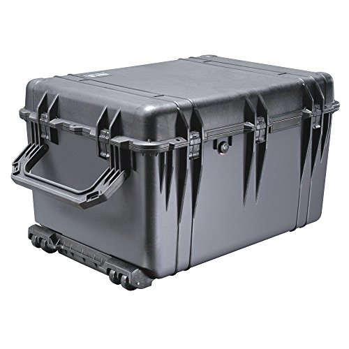 pelican 1660 case with foam black - Pelican 1510TP Carry-On Case with TrekPak Divider System (Bl 015100-0050-110