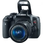 canon eos rebel t6i ef s dslr camera 18 55mm is stm camera lens kit black 150x150 - Canon EOS Rebel T6 Digital SLR Camera with 18-55mm EF-S f/3.5-5.6 IS II Lens + 58mm Wide Angle Lens + 2x Telephoto Lens + Flash + 48GB SD Memory Card + UV Filter Kit + Tripod + Full Accessory Bundle