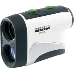 ScoreBand Pulse Golf Laser Rangefinder, White