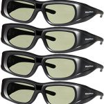 dlp link 144 hz ultra clear hd 4 pack 3d active rechargeable shutter glasses 150x150 - Samsung UBD-K8500 Smart 3D Blu-ray Player - Wi-Fi - Black (Pre-Owned)