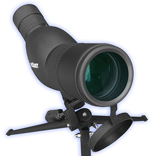 roxant authentic blackbird high definition spotting scope with zoom fully - Roxant Authentic Blackbird High Definition Spotting Scope With ZOOM - Fully Multi Coated Optical Glass Lens + BAK4 Prism. Includes Tripod + Case + Lifetime Support
