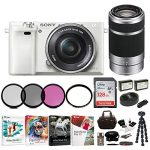 sony alpha a6000 mirrorless camera w16 50mm 55 210mm lenses 128gb bundle 150x150 - SAMSUNG-Compatible 3ACTIVE 3D Glasses. Rechargeable. TWIN-PACK