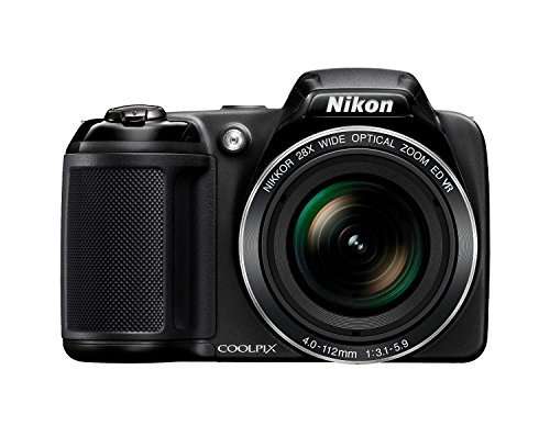 nikon coolpix l340 202 mp digital camera with 8gb memory card bundle 28x - Nikon Coolpix L340 20.2 MP Digital Camera with 8GB memory card bundle (28x Optical Zoom, 3.0-Inch LCD, 720P Video, Black, US model)