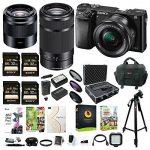 sony alpha a6000 mirrorless camera w16 50mm 55 210mm 50mm 3 lens bundle  150x150 - Sony Camera for Playstation 4, Black