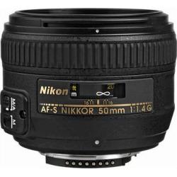 Nikon AF-S NIKKOR 50mm f/1.4G Lens 2180