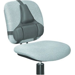 fellowes professional series back support memory foam cushion black - Fellowes Professional Series Back Support, Memory Foam Cushion, Black