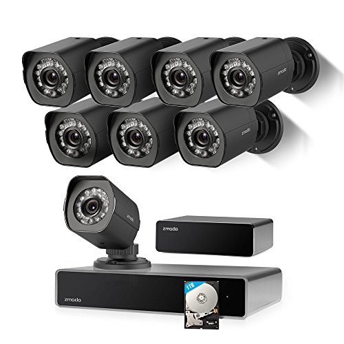 Zmodo Full Hd 1080p Simplified Poe Security Camera System