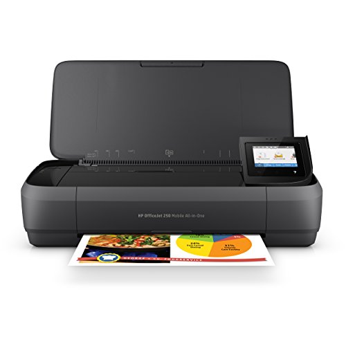 hp officejet 250 all in one portable printer with wireless mobile printing - HP OfficeJet 250 All-in-One Portable Printer with Wireless & Mobile Printing (CZ992A)