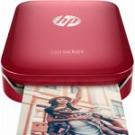 hp sprocket photo printer red 150x150 - SENS8 Home Security Camera System with Alarm/Siren, 1080p Smart Wireless/Wi-Fi Indoor Camera, No Subscription, Work with Alexa using IFTTT, Night Vision, Two-way Audio