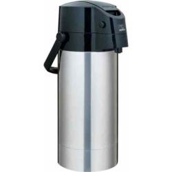 Zojirushi Air Pot 128-oz. Stainless Steel Beverage Dispenser, Grey