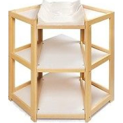 natural diaper corner baby changing table - Natural Diaper Corner Baby Changing Table