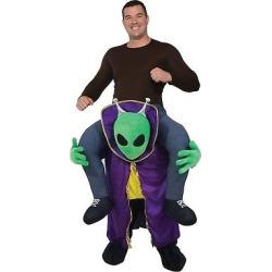 Adult Ride an Alien Costume, Adult Unisex, Multi-Colored