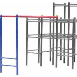 skywalker sports jungle gym monkey bars add on module blue - Skywalker Sports Jungle Gym Monkey Bars Add-On Module, Blue