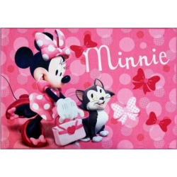 "disneys minnie mouse rug 46 x 66 multicolor - Disney's Minnie Mouse Rug - 4'6"" x 6'6"", Multicolor"