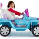 power wheels disney frozen jeep wrangler 150x150 - Best Choice Products 12V Ride On Car Truck w/ Remote Control, 3 Speeds, Spring Suspension, LED Light - Red