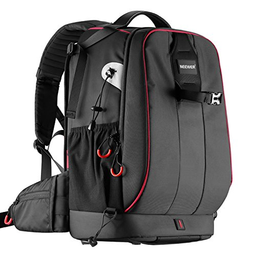 neewer pro camera case waterproof shockproof adjustable padded camera - Neewer Pro Camera Case Waterproof Shockproof Adjustable Padded Camera Backpack Bag with Anti-theft Combination Lock for DSLR,DJI Phantom 1 2 3 Professional Drone Tripods Flash Lens and Other Accessory