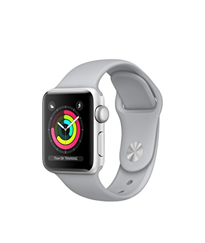 apple watch series 3 gps silver aluminum case with fog sport band 42mm - Apple Watch Series 3 - GPS - Silver Aluminum Case with Fog Sport Band - 42mm