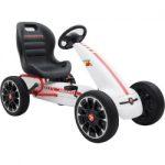 blazin wheels abarth f1 pedal go kart ride on vehicle multicolor 150x150 - Power Wheels Jeep Wrangler, Red