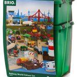 brio railway world deluxe set 150x150 - Magformers Smart Set (144-piece ), Deluxe Building Set. magnetic building blocks, educational magnetic tiles, magnetic building STEM toy set