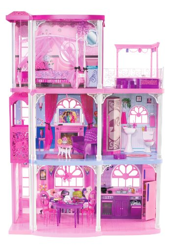 barbie pink 3 story dream townhouse - Barbie Pink 3-Story Dream Townhouse