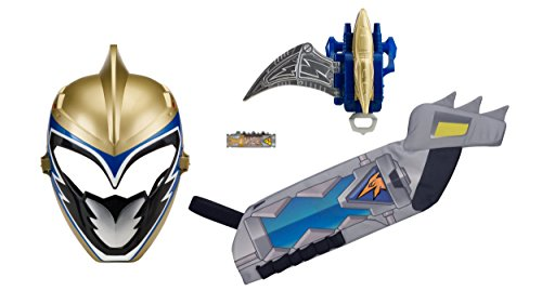 power rangers dino super charge ranger hero set gold - Power Rangers Dino Super Charge - Ranger Hero Set, Gold