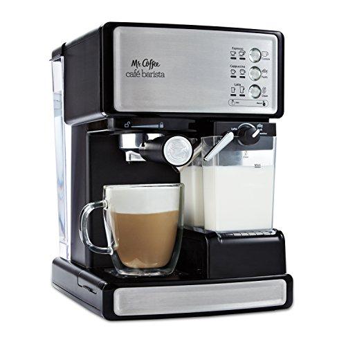 mr coffee cafe barista espresso and cappuccino maker silver - Mr. Coffee Cafe Barista Espresso and Cappuccino Maker, Silver