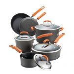 rachael ray hard anodized ii nonstick dishwasher safe 10 piece cookware set 150x150 - Mr. Coffee Single Cup Coffee Maker - Bvmc-SCGB200, Silver