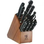 ja henckels international classic 16 pc block set 150x150 - Calphalon Classic SharpIN 15-pc. Self-Sharpening Stainless Steel Knife Block Set, Grey