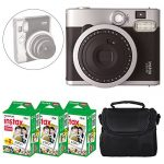 fujifilm instax mini 90 neo classic instant camera black fujifilm instax 150x150 - Fujifilm Instax Mini 8+ (Strawberry) Instant Film Camera + Self Shot Mirror for Selfie Use - International Version (No Warranty)
