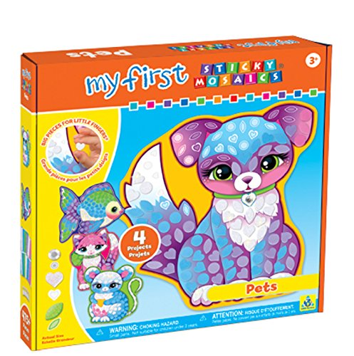 The Orb Factory My First Sticky Mosaics Pets