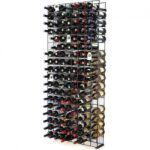 wine enthusiast 144 bottle wine rack black 150x150 - Modern Upholstered 40 Stainless Steel Bench, White